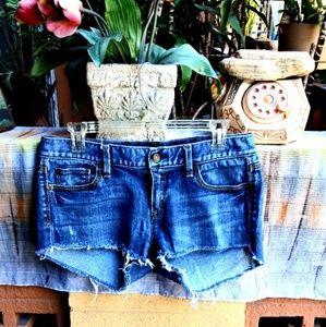 Summer Sale❤❤❤Loft Distressed Denim shorts.